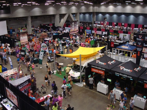 One half of the ginormous expo