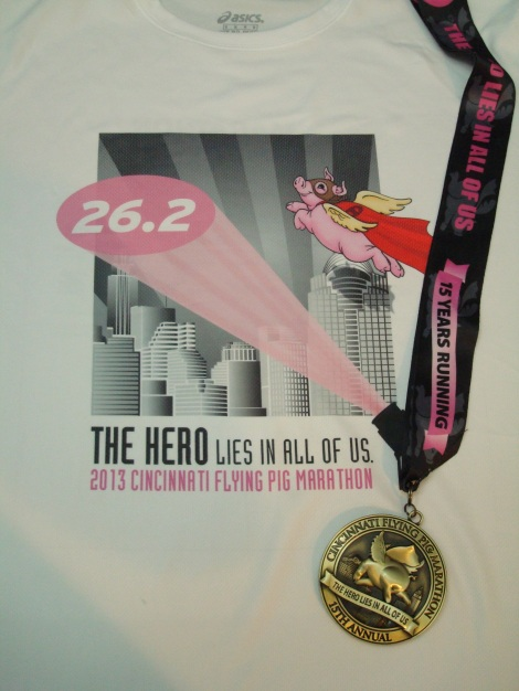 The shirt was meh but the medal made up for it.