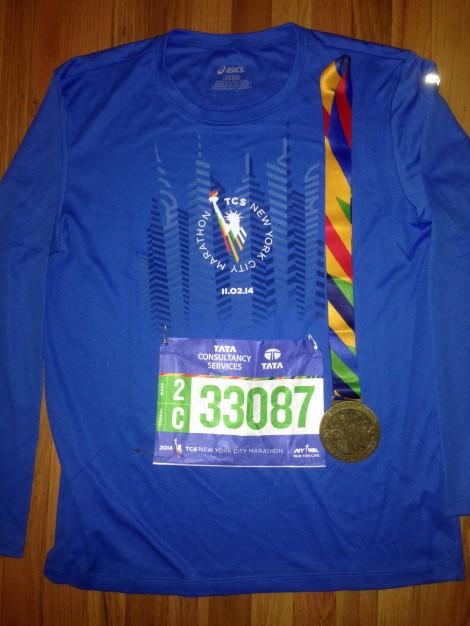 NYC Marathon 08